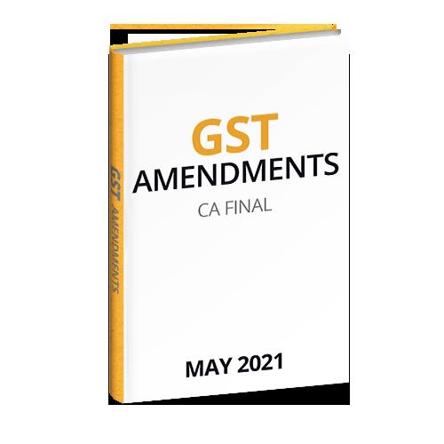 GST CA FINAL 2021