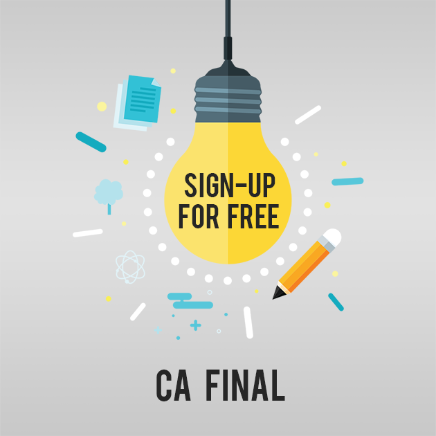 Sign Up For CA Final Lectures
